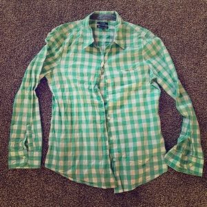 Gap Gingham Button-Down
